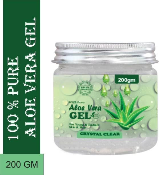 Nirmaya Organics 100% Pure Aloe Vera Gel for Beautiful Skin