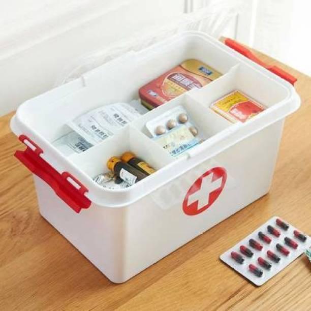STUTI ENTERPRISEE Medicine cabinet First Aid Kit (Home, Vehicle, Sports and Fitness, Workplace) First Aid Kit
