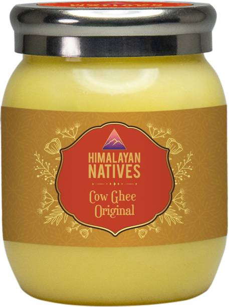 Himalayan Natives 100% natural Himalayan Cow Ghee 500 ml Plastic Bottle