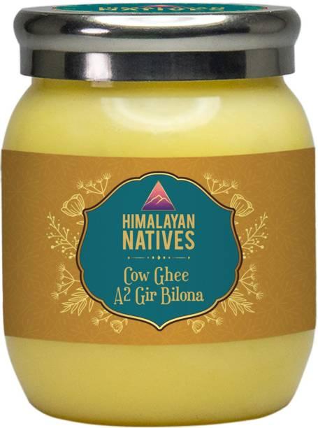 Himalayan Natives 100% natural A2 gir Cow Bilona Ghee Ghee 500 ml Plastic Bottle