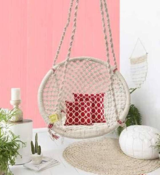 Curio Centre Swing Chair with Cushion Accessories Cotton Large Swing