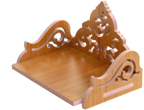 STASTORE STASTORE SHOP WOODEN ROYAL LOOK WALL TEMPLE TRIANGLE HOME TEMPLE Engineered Wood Home Temple