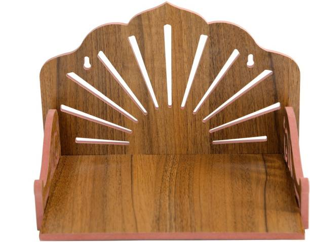 FRICOSTA Plywood Hindola for Office and Wall Hanging Hindola Solid Wood Home Temple