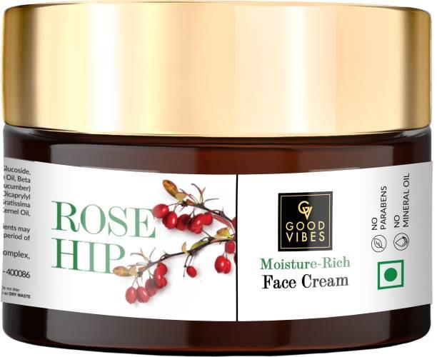 GOOD VIBES Moisture - Rich Face Cream - Rosehip