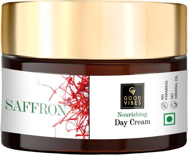 GOOD VIBES Nourishing Day Cream - Saffron