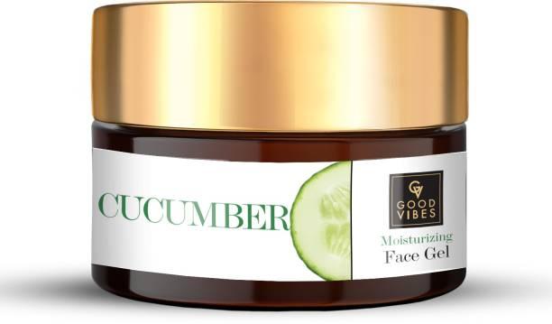 GOOD VIBES Moisturizing Face Gel Cucumber