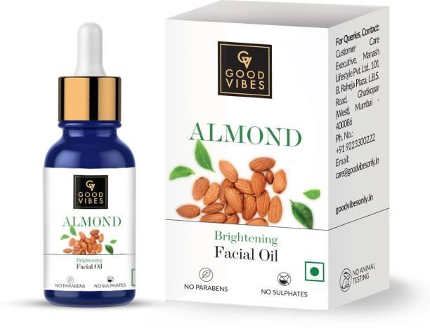 GOOD VIBES Brightening Facial Oil - Almond