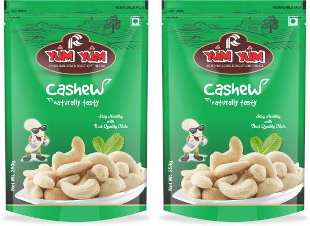 YUM YUM Raw Cashew Nuts W400 (Kaju) Cashews