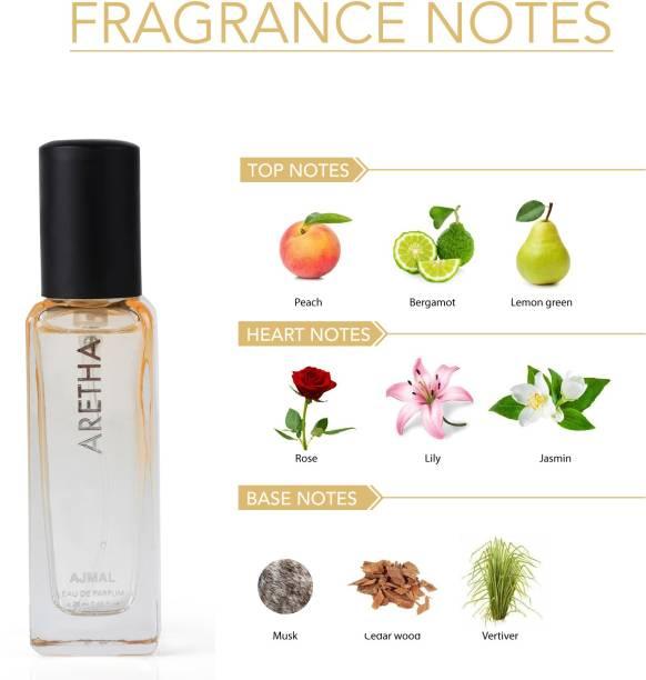 Ajmal Aretha Eau De Parfum Fruity Perfume 20ML Party Wear for Women Eau de Parfum  -  20 ml