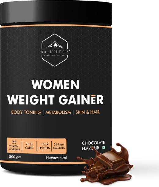 Dr.Nutra Women Weight Gainer Chocolate Flavor -500gm Weight Gainers/Mass Gainers