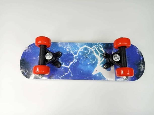 NSHIVA Child Mini Skateboard Finger Board Skate Boarding Kit (17`` 5`) bear 5 inch x 17 inch Skateboard