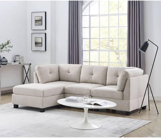 Febonic YULE Fabric 5 Seater  Sofa