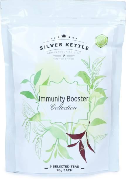 SilverKettle Immunity Booster Collection Green Tea Pouch