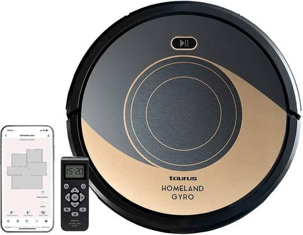 Taurus Homeland Gyro Robotic Floor Cleaner (WiFi Connectivity, Google Assistant and Alexa)