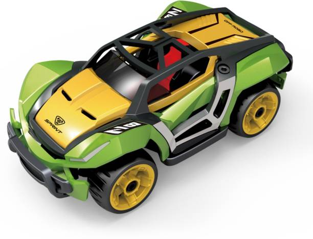 Toyshack Pull Back Die Cast Modified Metal Car for kids