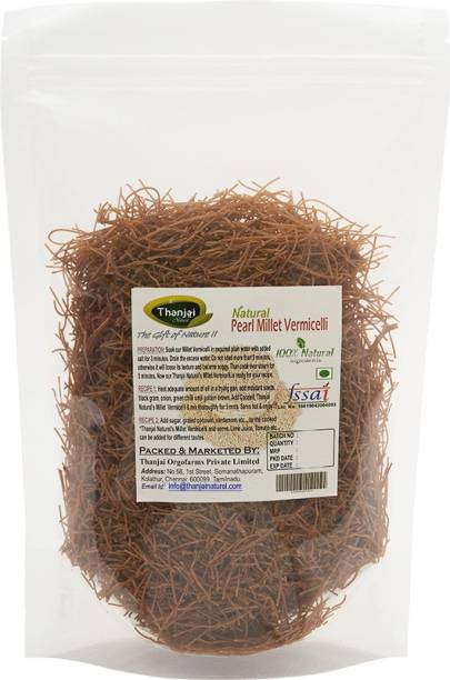 THANJAI NATURAL Pearl Millet 1000g Semiya/ PURE 100% NATURAL and Home Made  Vermicelli 1000 g