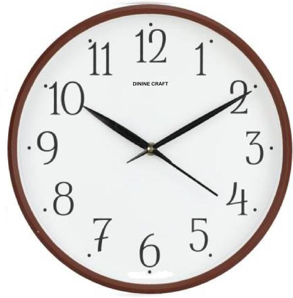 Dinine Craft Analog 25 cm X 25 cm Wall Clock