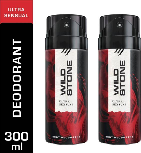 Wild Stone 2 Ultra Sensual Deodorant Spray  -  For Men