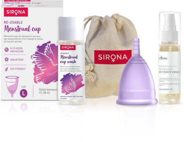 Sirona Large Reusable Menstrual Cup