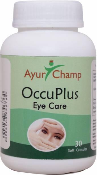 Ayur Champ OccuPlus Eye Care - 30 Capsule - Pack of 2