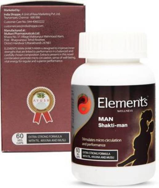 ELEMENTS WELLNESS Man Shakti man