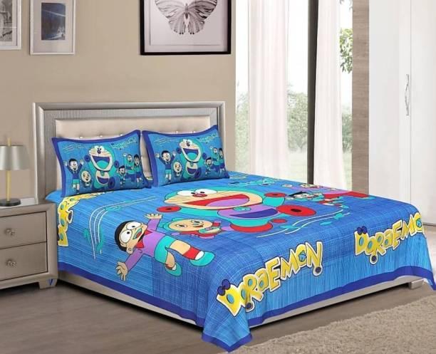 crafton 180 TC Cotton Double Cartoon Bedsheet