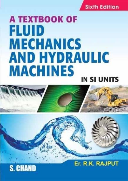 Textbook Of Fluid Mechanics & Hydraulic Machines In Si Units