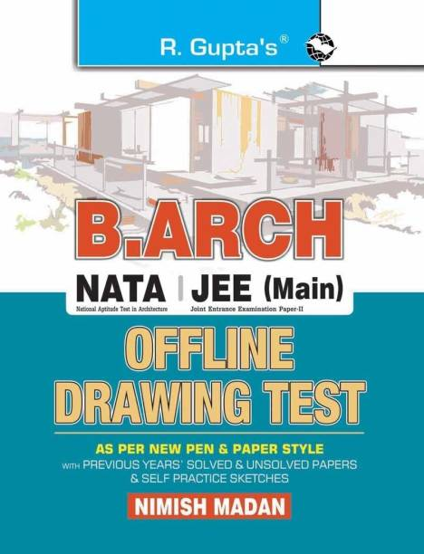 B. Arch/NATA/JEE (Main) Offline Drawing Test: As Per New Pen & Paper Style