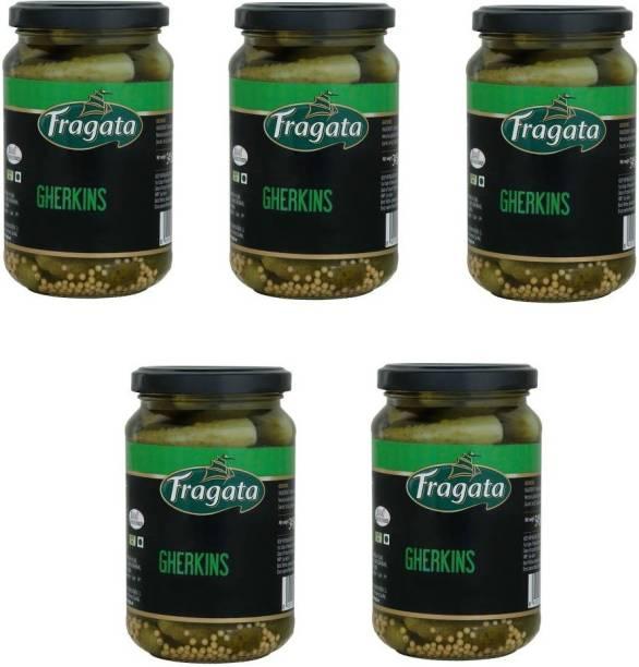 Fragata Spanish Gherkins - 345g x 5 = 1725g Vegetables