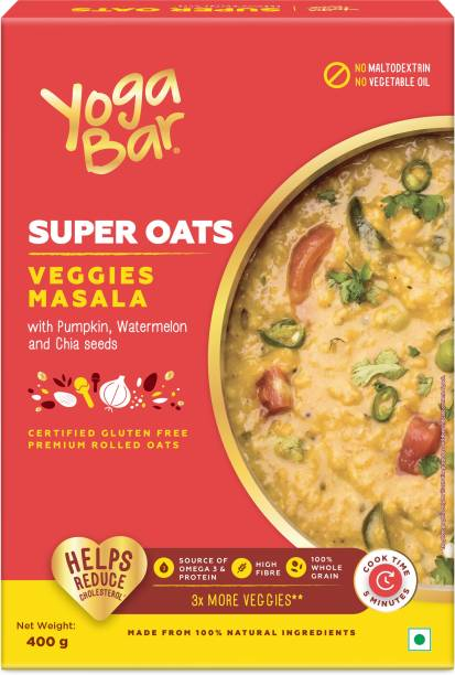 Yogabar Super Oats Veggie Masala Oats