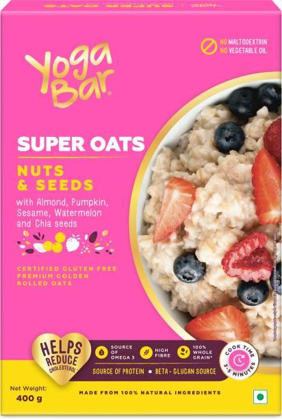 Yogabar Super Oats Nuts & Seeds