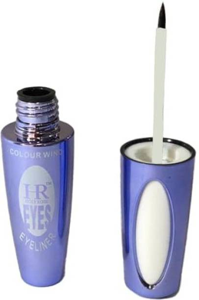 HR Paigii Holy Rose Intense Black Eyeliner Instant Dry Waterproof Smudge Proof Long Lasting 6 ml