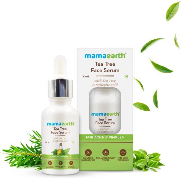 MamaEarth Tea Tree Face Serum With Tea Tree & Salicylic Acid For Acne & Pimples