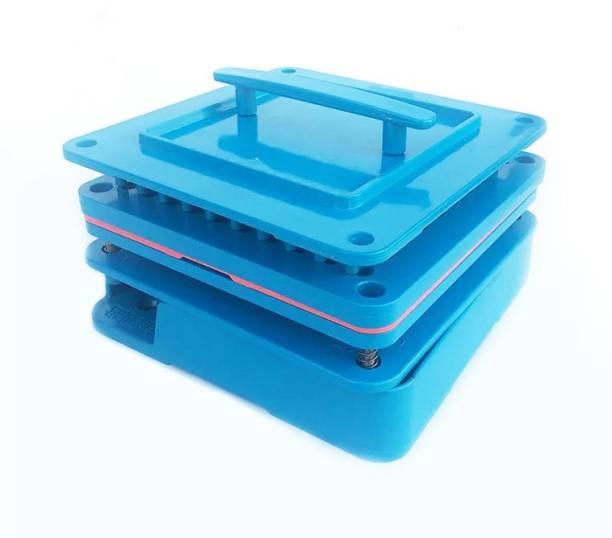 PATCO 100 Holes - Manual Empty Capsule Filling Machine/Powder Filler Board   Capsule Filling Tray (Size 0 Capsules - 500-650 mg Powder Filling) Reusable Medical Tray