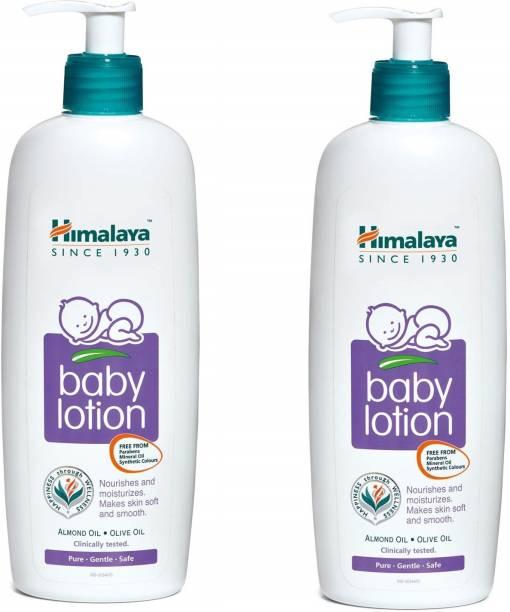 HIMALAYA combo pack of Baby lotion 400 ml x 2 = 800 ml