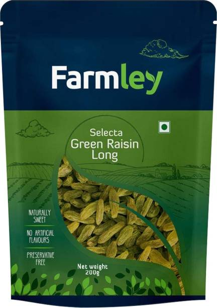 Farmley Selecta Green Long Raisins