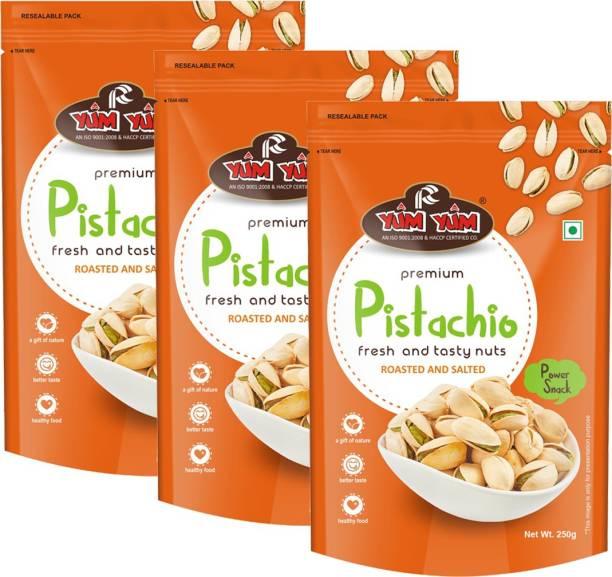 YUM YUM Premium Roasted & Salted Pista 750g Pistachios