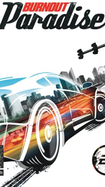 Burnout paradise game ( for PC ) ( 1 DVD In The Box ) car racing game (standard)