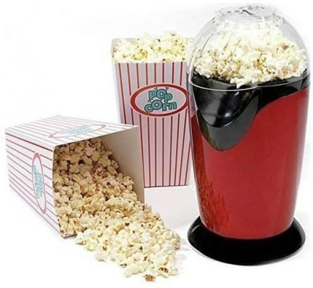 Miswa Popcorn Machine - Oil Mini Hot Air Popcorn Machine Snack Maker Portable Electric Popcorn Maker Household Automatic Popcorn Machine 1200W 1 L Popcorn Maker