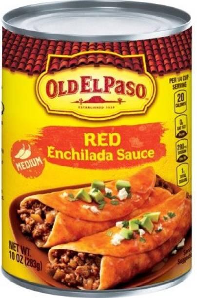 Old ELPaso Red Enchilada Sauce Medium , 283g Sauce