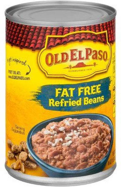 Old ELPaso Fat Free Refried Beans, 453g Sauce