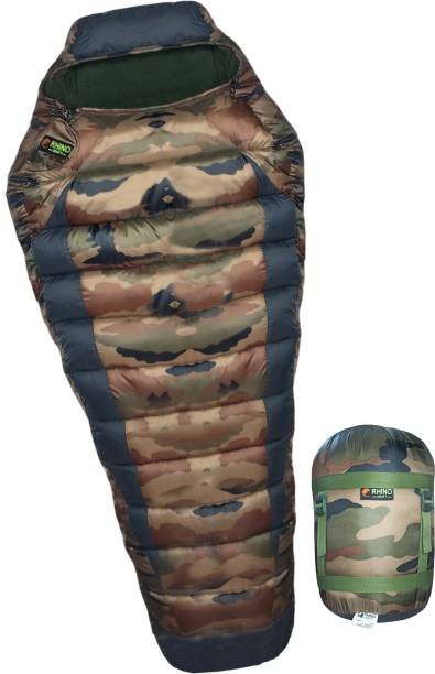 RHINOKraft Rider Military Mummy Shape Extra Large Size for Camping in Winter Sleeping Bag