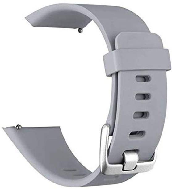 WEWIN Sport Silicone Band Compatible with Fitbit Versa/Fitbit Versa 2/Fitbit Versa Lite Edition, Grey (Watch Not Included) Smart Watch Strap
