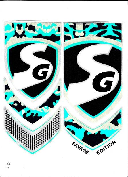 SG HP Savage Edition Bat Sticker (Green) Bat Sticker