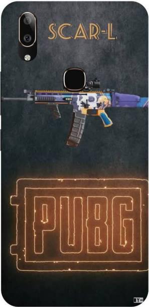 Snapcrowd Back Cover for Vivo V9 Pro Pubg Scra-l Gun back cover