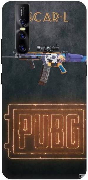 Snapcrowd Back Cover for Vivo V15 Pro Pubg Scra-l Gun back cover