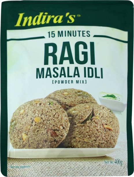 indira's Ragi Masala Idli 400 g
