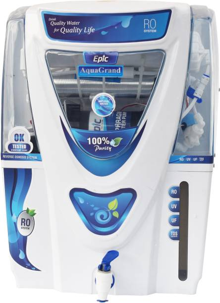 Aquagrand Epic purify Mineral+ro+uv+uf+tds 15 L 15 L RO + UV + UF + TDS Water Purifier