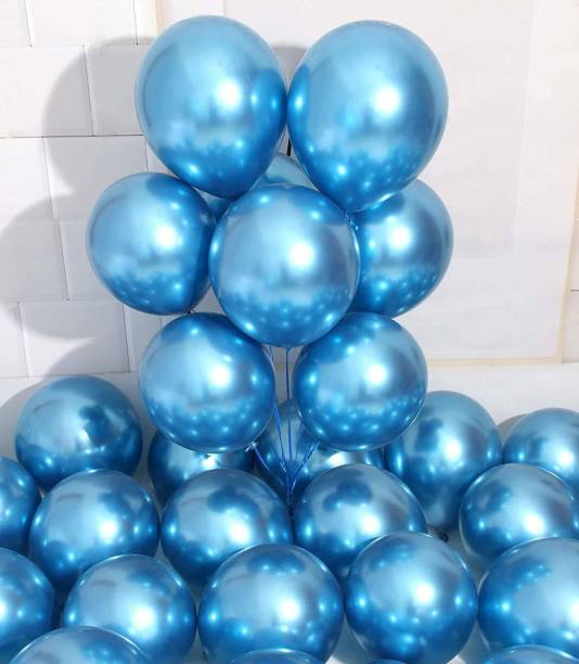 Eos Solid Solid Metallic Blue balloons Balloon