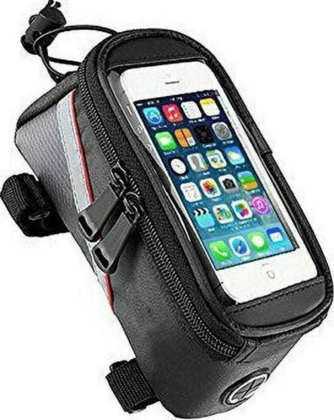 Sqoota New Bicycle mobile phone Bag Waterproof Front Frame Senstitve Touch Screen Bicycle Phone Holder